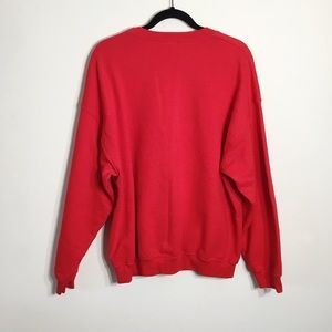 Gildan Sweaters - Gildan Merry Christmas Squirrel Graphic Sweatshirt